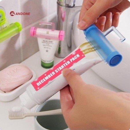 Самый удобный и мой любимый держатель зубной пасты и не только.