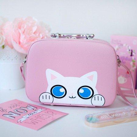 Милая детская  сумка-чемоданчик