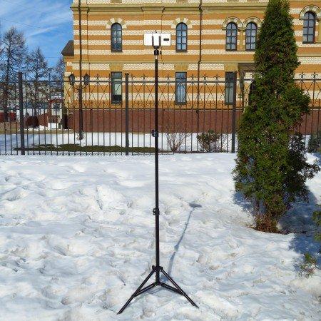 Универсальный, регулируемый по высоте, штатив для фото и видеосъемки