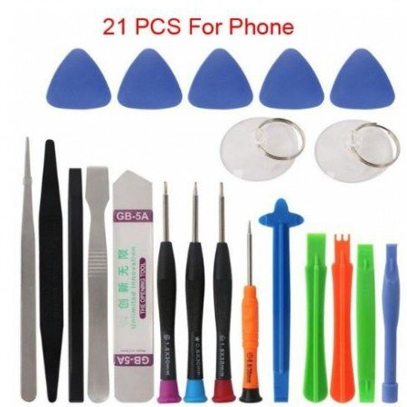 Новый 21 в 1 Набор инструментов для ремонта мобильных телефонов Spudger Pry инструмент для открытия