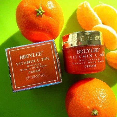 Классный омолаживающий и отбеливающий крем для лица от бренда BREYLEE