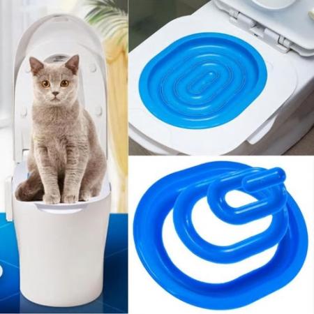 Кошачий туалет. Тренажер для домашних питомцев
