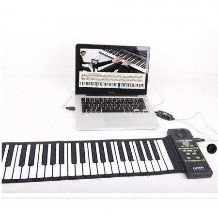 Раскладное пианино - Лучший компактный вариант для музыкантов!