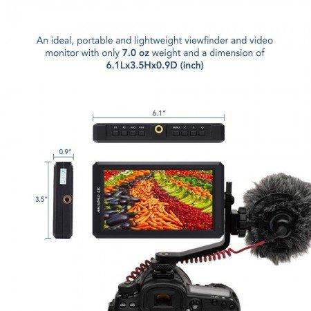 НАКАМЕРНЫЙ 5,7-дюймовый Full HD монитор Feelworld F6