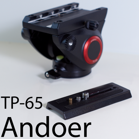 Штативная гидравлическая голова Andoer TP-65