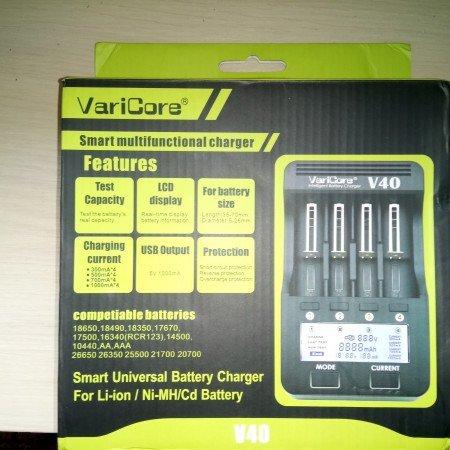 Зарядное устройство varicore V40