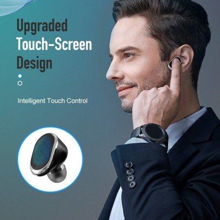 Оригинальный  ROCK SPACE сенсорный Управление СПЦ Bluetooth V5.0 глубокий бас