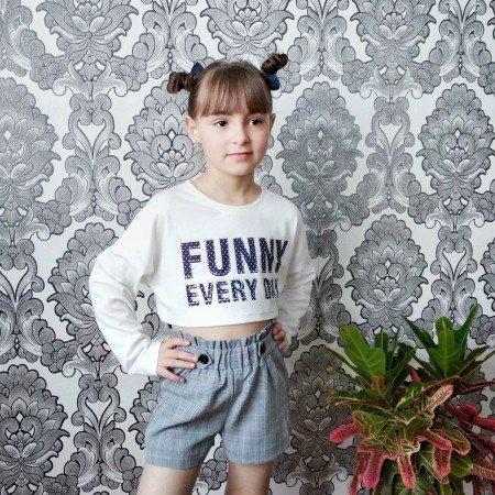 Стильные шорты для девочек от бренда SheIn KIDDIE