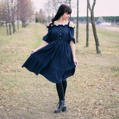 Очаровательное платье Alyaboomty