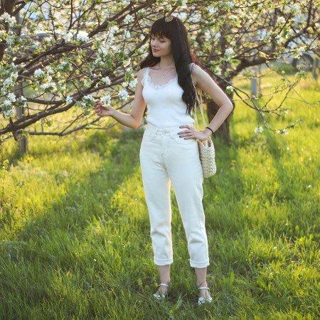 Светлые джинсы Streamgirl