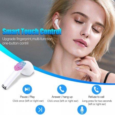 i14 TWS LK-Te9 наушники Bluetooth с сенсорным управлением