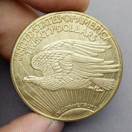 20 доллар США 1933  Gold двойной Орел Самая дорогая монета в мире  20 dollar USA 1933 DOUBLE EAGLE