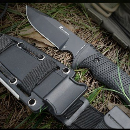 Нож HX OUTDOORS 58-60 с фиксированным клинком D2 лезвие