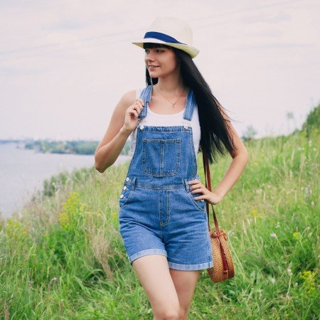 Джинсовый комбинезон Streamgirl