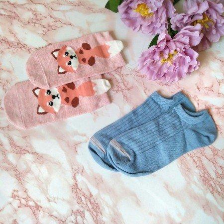 Женские короткие носочки от DDLY Store, которые сочетают в себе отличное качество и милейший дизайн