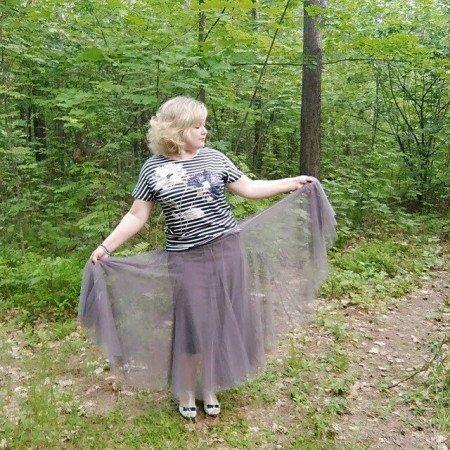 Шикарная фатиновая юбка от магазина Ezsskj Knit Store